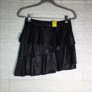 Leather Mini Skirt~ Nasty Gal
